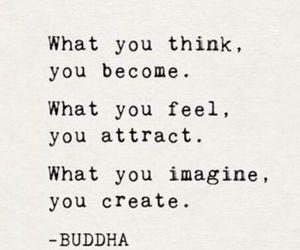 buda, phrase, and Buddha image