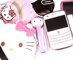 blackberry, hello, and kitty image