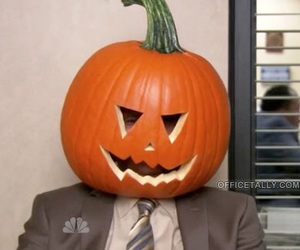 autumn, the office, and Halloween image