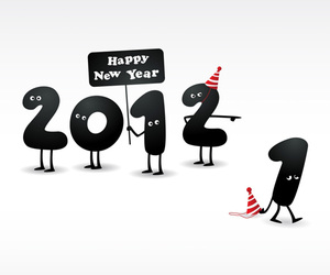 2012 and happy new year image
