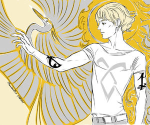 jace herondale, the mortal instruments, and cassandra clare image