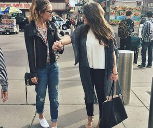 casual, city, and denim image
