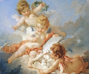 angels, art, and painting image