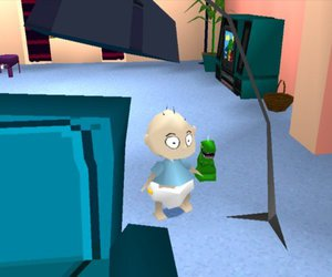 nickelodeon and rugrats game image
