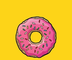 donuts, wallpaper, and yellow image