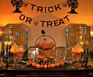 Halloween, autumn, and decoration image