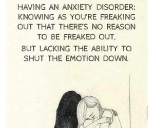 anxiety, emotions, and mental illness image