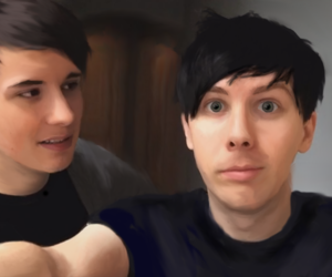 phan, amazingphil, and danisnotonfire image