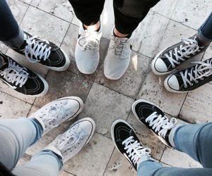 convers, fashion, and goals image