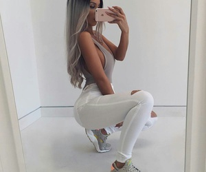 body, girl, and hair image