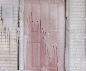 ice, pastel, and door image