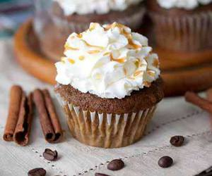 cupcake, food, and autumn image
