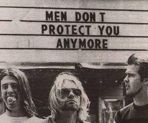 nirvana, kurt cobain, and men image