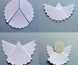 angel, diy, and christmas image
