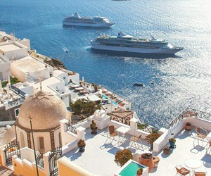 summer, Greece, and travel image