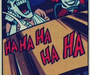 harley quinn, joker, and batman image
