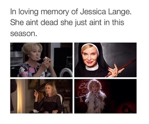 jessica lange, ahs, and actor image