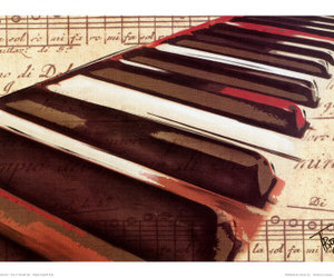 art, piano, and troy image