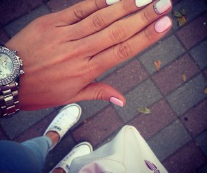 fashion, manicure, and time image