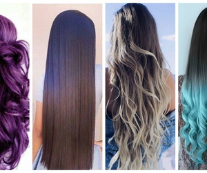 fashion, hair, and hair stlye image