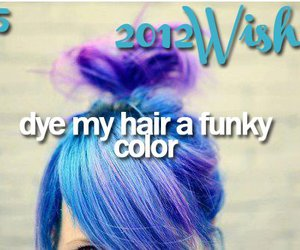 wish, hair, and 2012 image