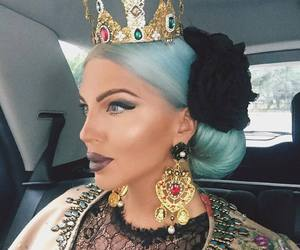 Queen, makeup, and fashion image