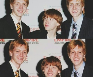 harry potter, book, and james phelps image