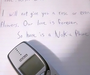 love, nokia, and funny image