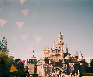 vintage, disney, and castle image