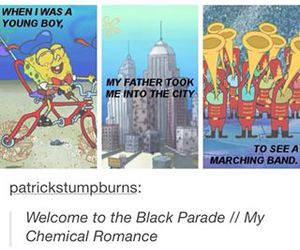 my chemical romance, funny, and mcr image