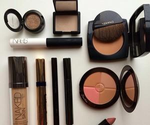 make up, nars, and beauty image