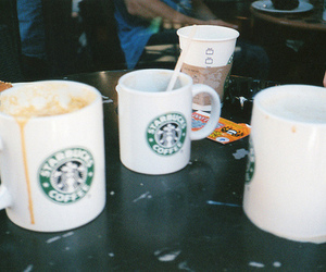 starbucks, coffee, and indie image