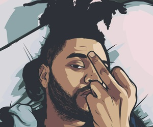 the weeknd and theweeknd image