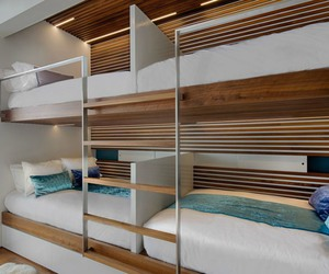amazing, bedroom, and bunk beds image