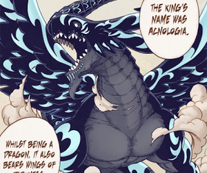 fairy tail and acnologia image