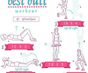 fitness, exercises, and squats image