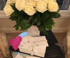 chanel, home, and roses image