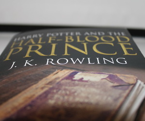 book, cover, and j.k rowling image
