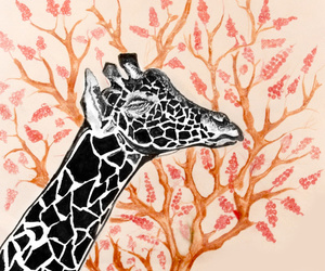 africa, art, and trees image