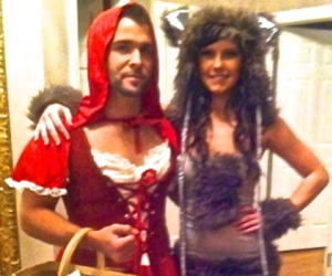 adult halloween costumes, couple halloween costumes, and easy halloween costumes image