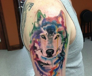 animals, Tattoos, and hands image