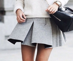 accessories, chic, and grey image