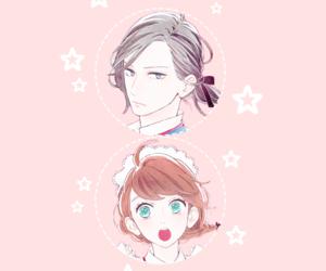 anime, background, and pastel image
