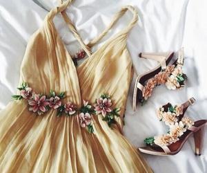 dress, heels, and inspiration image