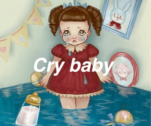 cry baby, sad, and melanie martinez image