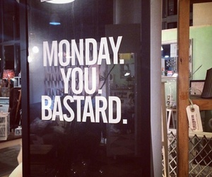 bastard, picture, and monday image