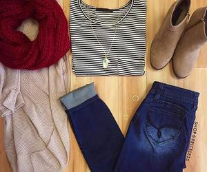adidas, denim, and boots image