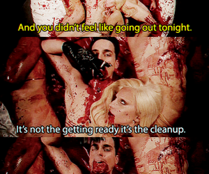 Lady gaga, matt bomer, and ahs hotel image