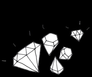 diamond, tumblr, and overlays image