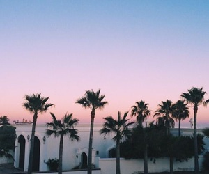 beach, travel, and sky image